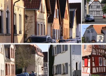 Ortsbildrahmenplan und Entwurf der Erhaltungssatzung