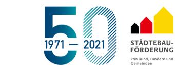 Städtebauförderung 50 Jahre
