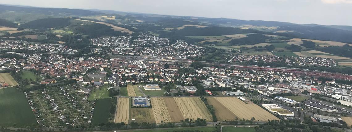 Luftbild Nordansicht