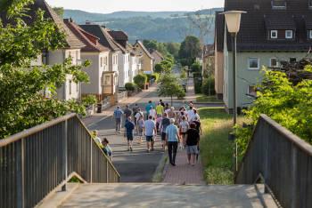 Foto Stadtteilrundgang Göttinger Bogen