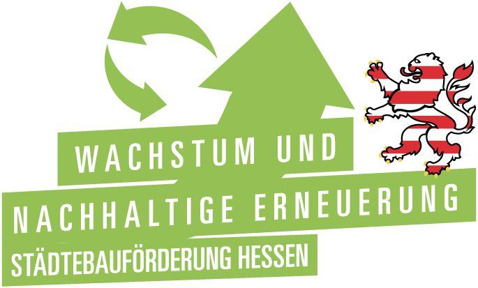 Logo Städtebauförderung Hessen