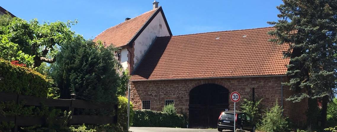 historische Hofanlage in Sachsenhausen