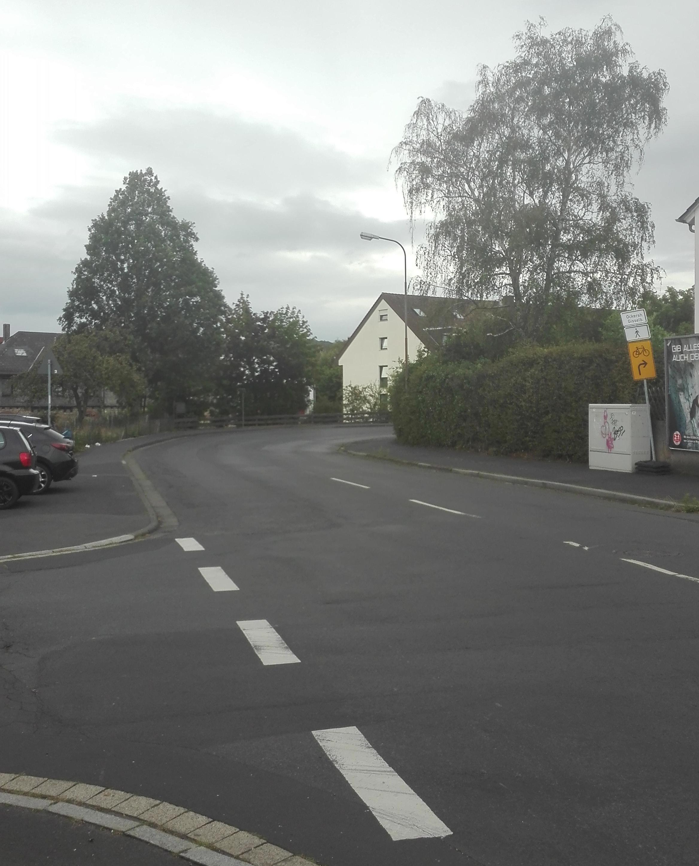 Foto der Frauenbergstraße