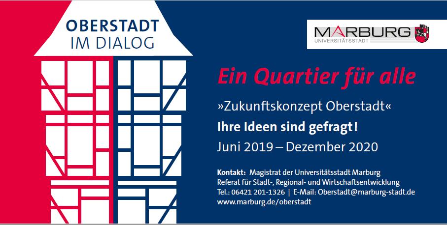Grafik Oberstadt im Dialog Ein Quartier für Alle