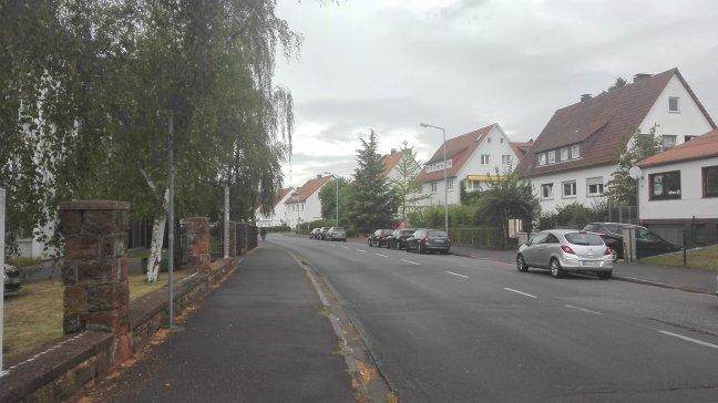 Abbildung der Frauenbergstraße