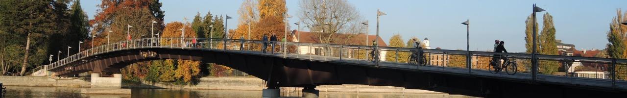 Banner Radbrücke
